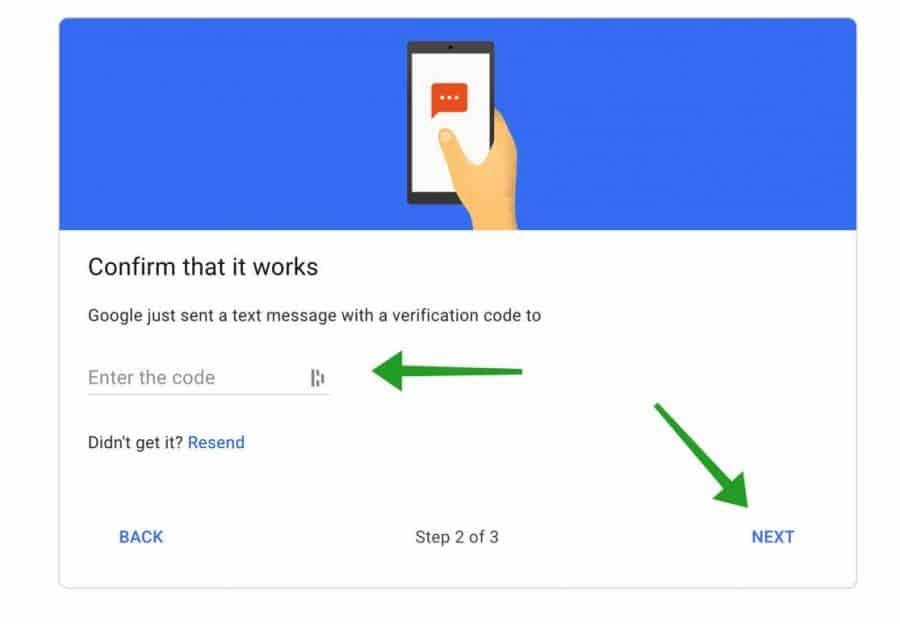mobiele code twee factor authenticatie