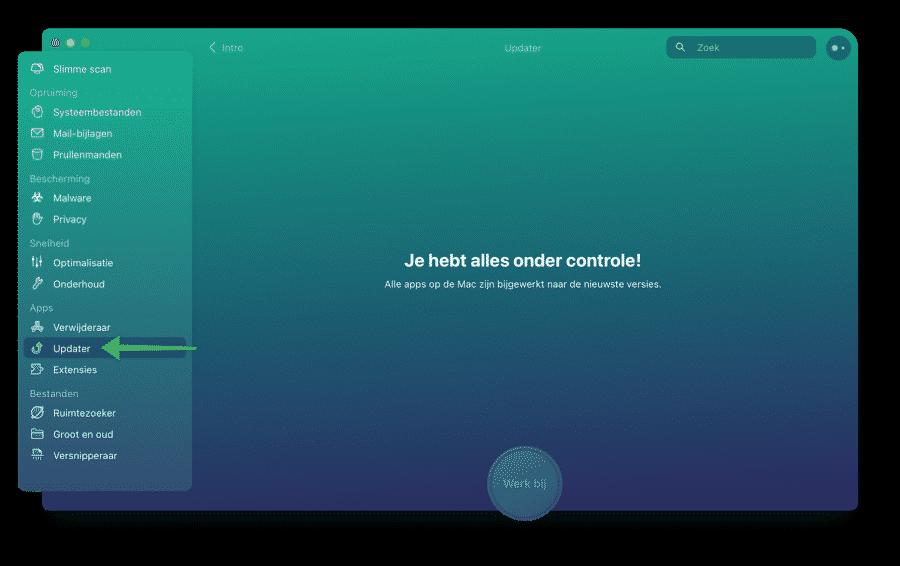 CleanMyMac updater