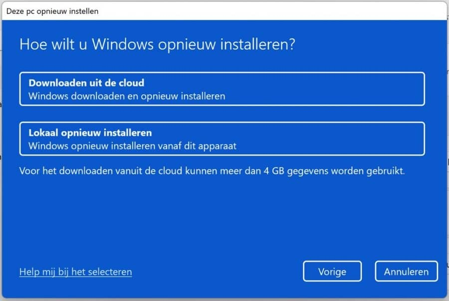 Hoe wilt u Windows 11 opnieuw installeren
