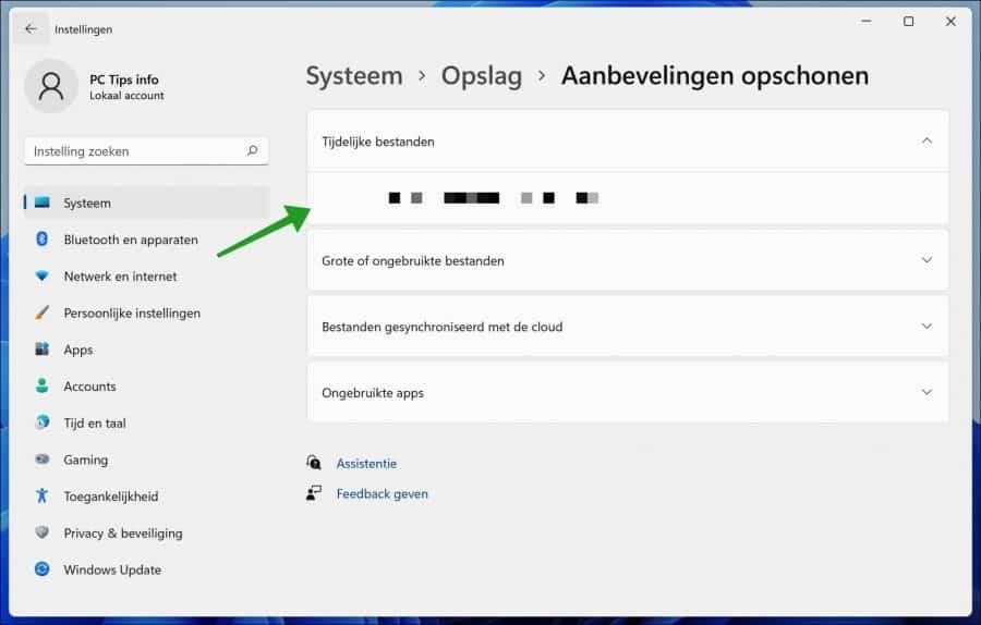 Vorige Windows installatie verwijderen in Windows 11