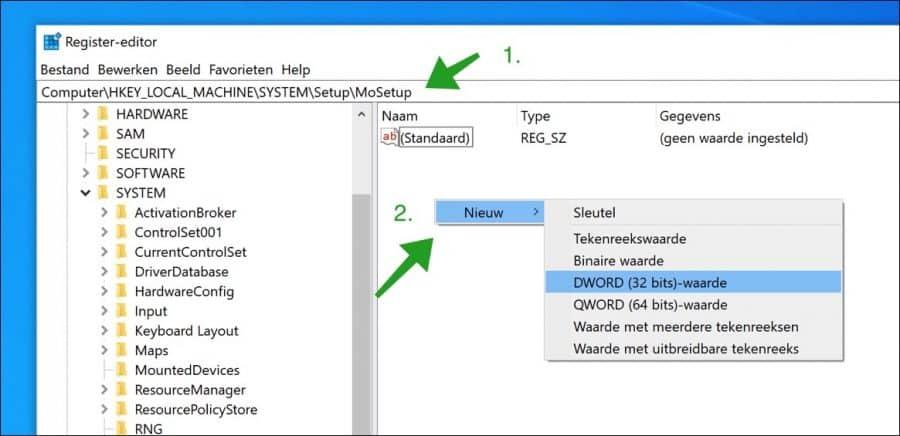 Windows 11 installeren op niet compatible pc